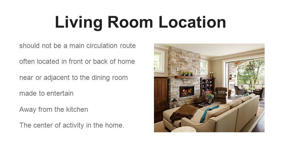 2 Living Room Location Should Not