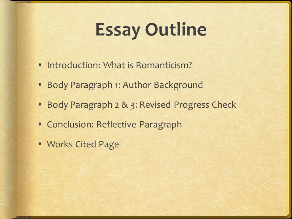 Romanticism Essays