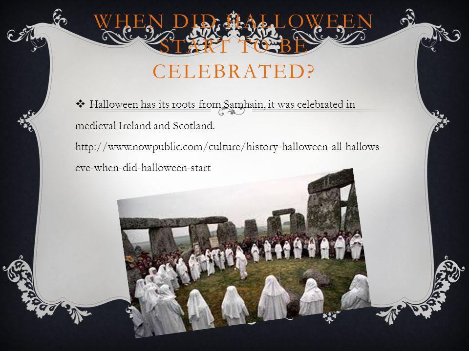 HISTORY OF HALLOWEEN PRESENTATION. Michyla Multimedia Design 3 rd ...