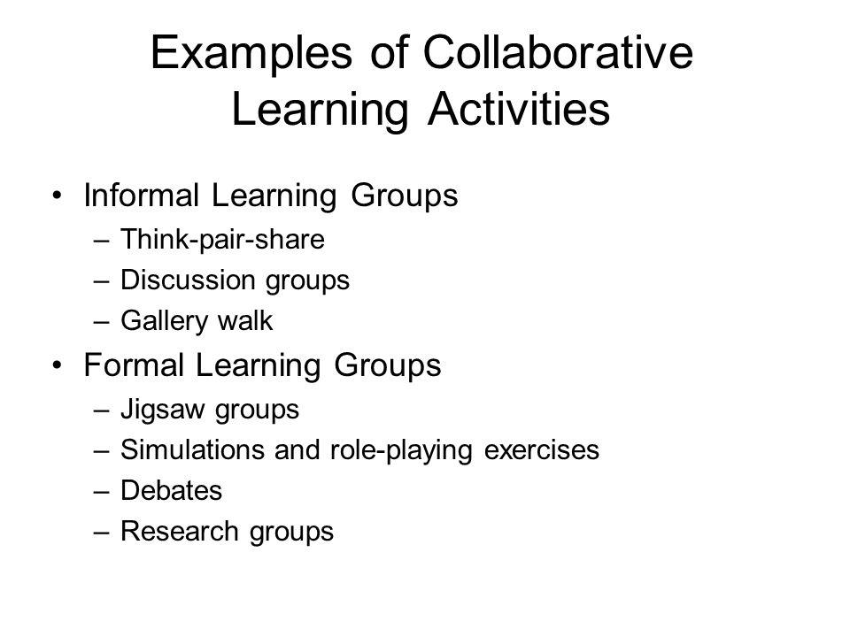 gallery walk activities