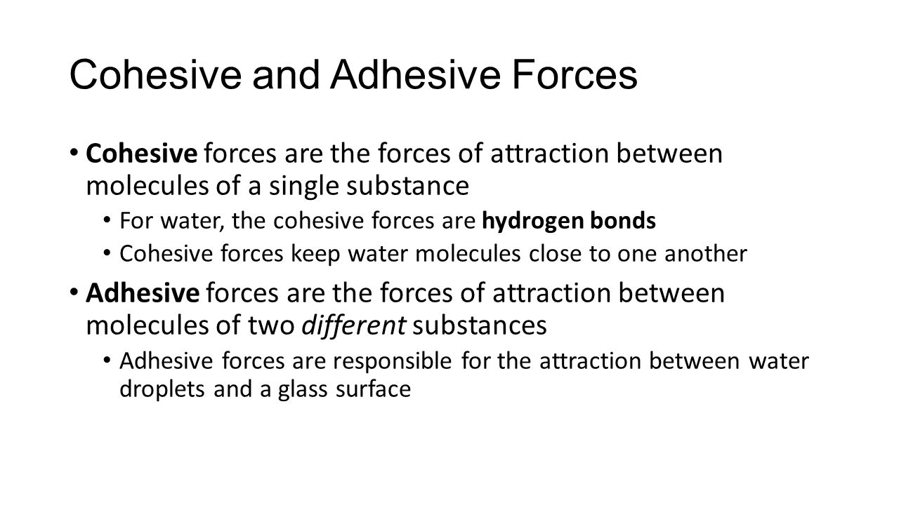 understanding cohesive forces and adhesive forces between particles To obtain a quantitative assessment of the cohesive and adhesive force direct quantification by atomic force forces between individual powder particles.