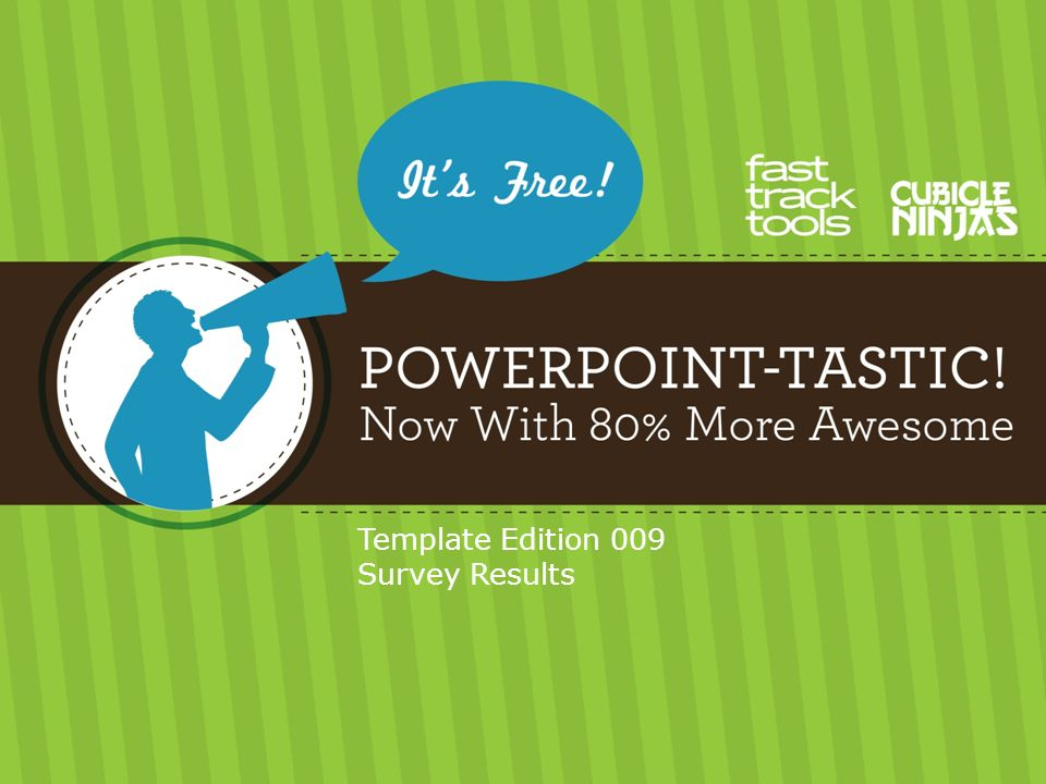 Template Edition 009 Survey Results Use Shapes To Visually
