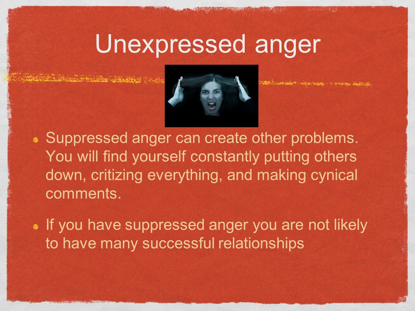 what is anger Anger management is a therapeutic approach designed to help people respond to anger with appropriate behavior it reduces the possibility of harm due to anger.