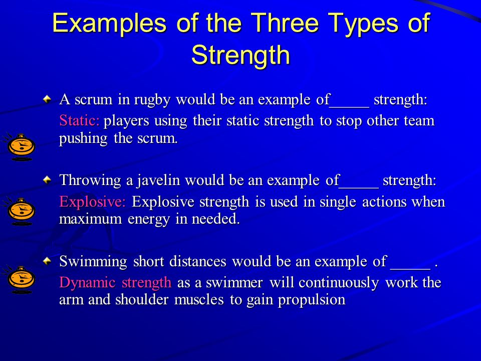 example of strength