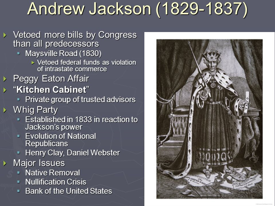Kitchen Cabinet Andrew Jackson age of jackson unit iva ap united states history. - ppt download