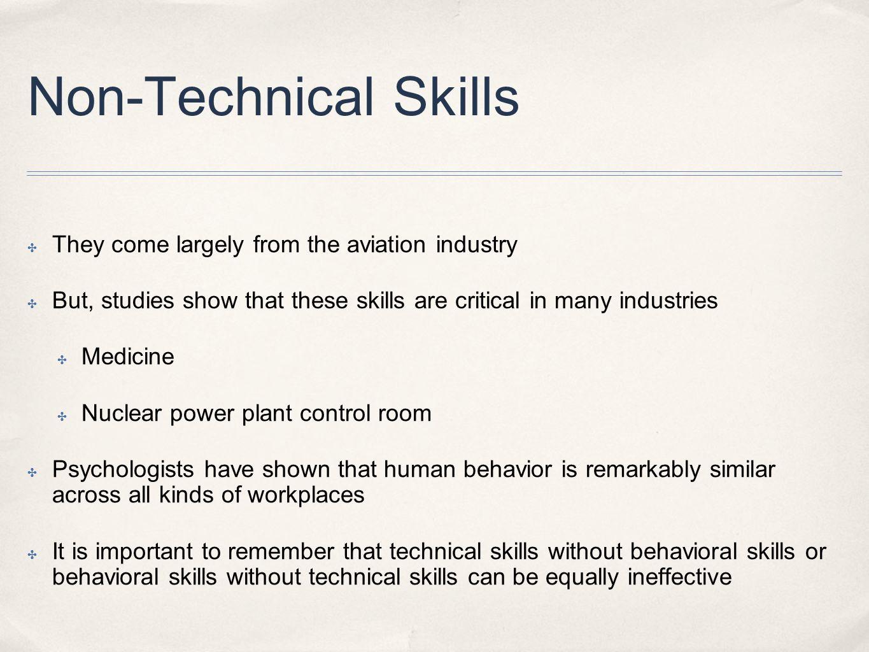 6 non technical - It Technical Skills