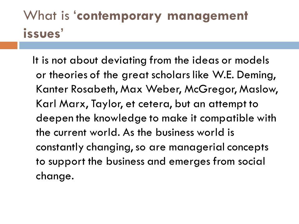 contemporary issue management - Yolar.cinetonic.co