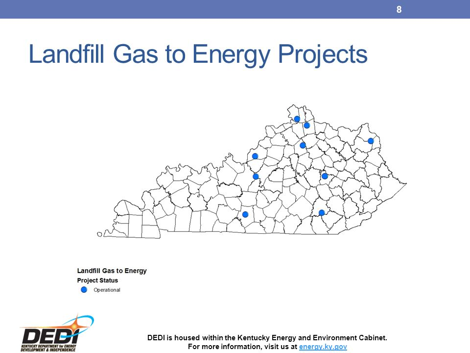DEDI is housed within the Kentucky Energy and Environment Cabinet ...