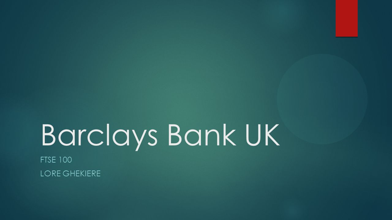 barclays bank plc is a multinational