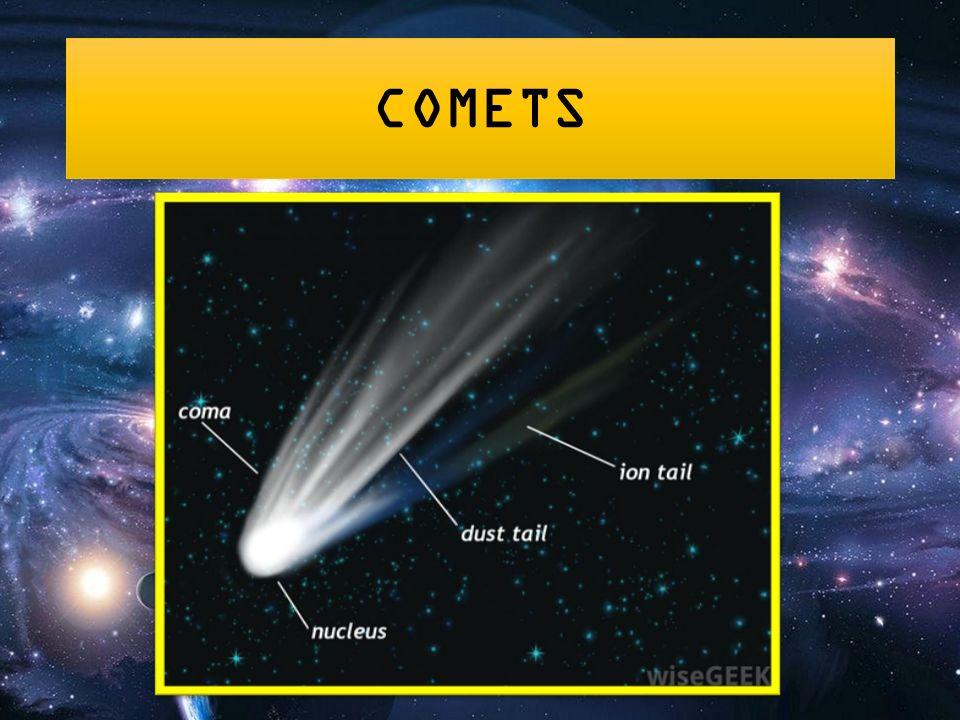 asteroids vs comets
