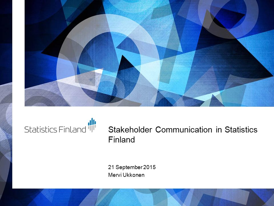 stakeholder communication Slds best practices brief stakeholder communication: tips from the states this product of the institute of education sciences (ies) slds grant program was.