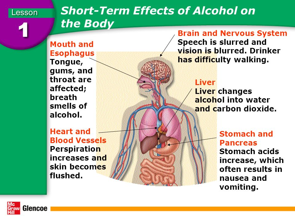 informative speech outline on effects of alcohol on the body Where there's smoke: the effects of smoking on the human body alcohol or other drugs demonstrate the effects of smoking on the human body.