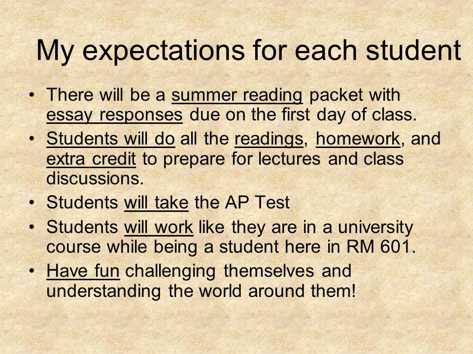 Essay For Summer