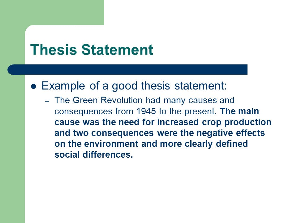 examples thesis statement Thesis statement guide results thesis statement model thesis statement guide: sample outline the thesis statement model used in this example is a thesis with.