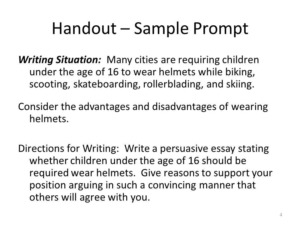 sample persuasive writing