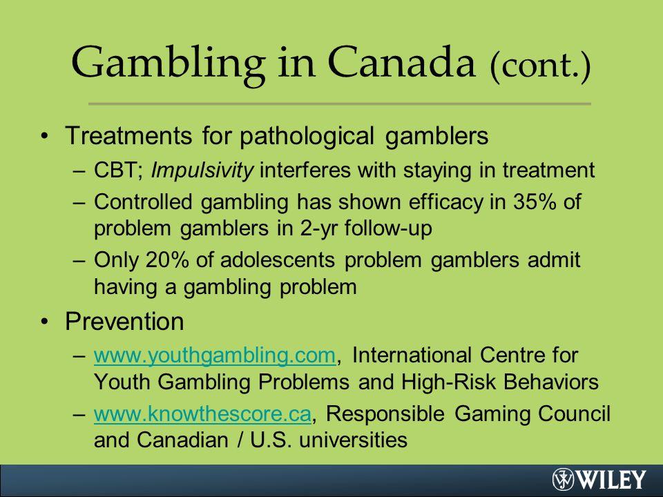 Gambling youth canada no deposit coupons