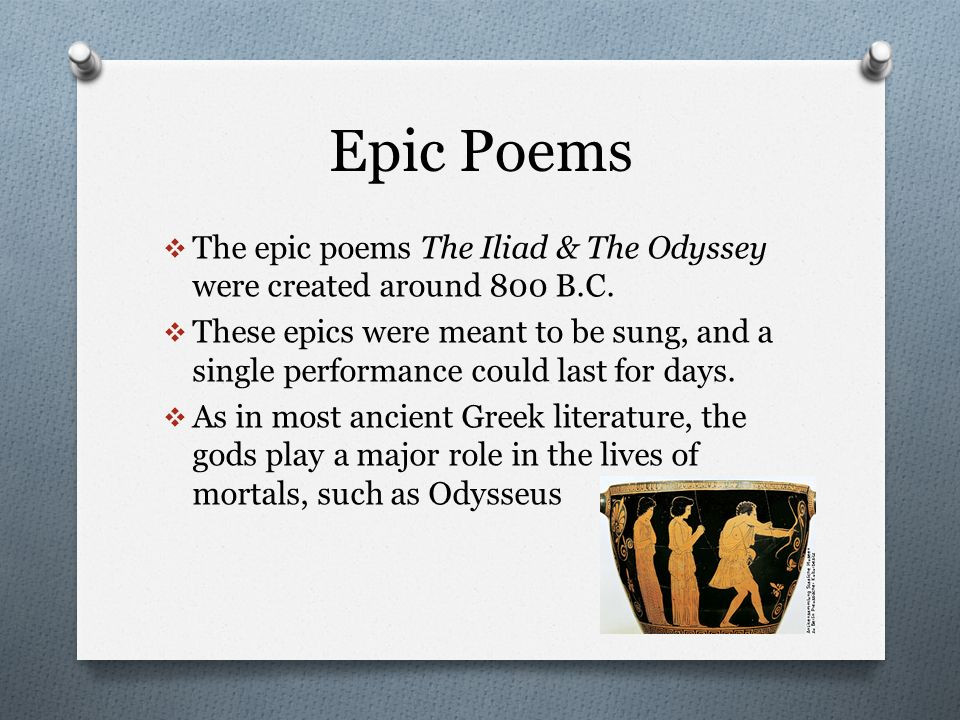 the theme of the epic poem American poets in the late eighteenth and early nineteenth centuries struggled to produce a good epic poem on the american adventure, but without success longfellow's hiawatha is an attempt at an indian epicwhitman's leaves of grass, considered as the autobiography of a generic american, is sometimes called an american epic, as are.