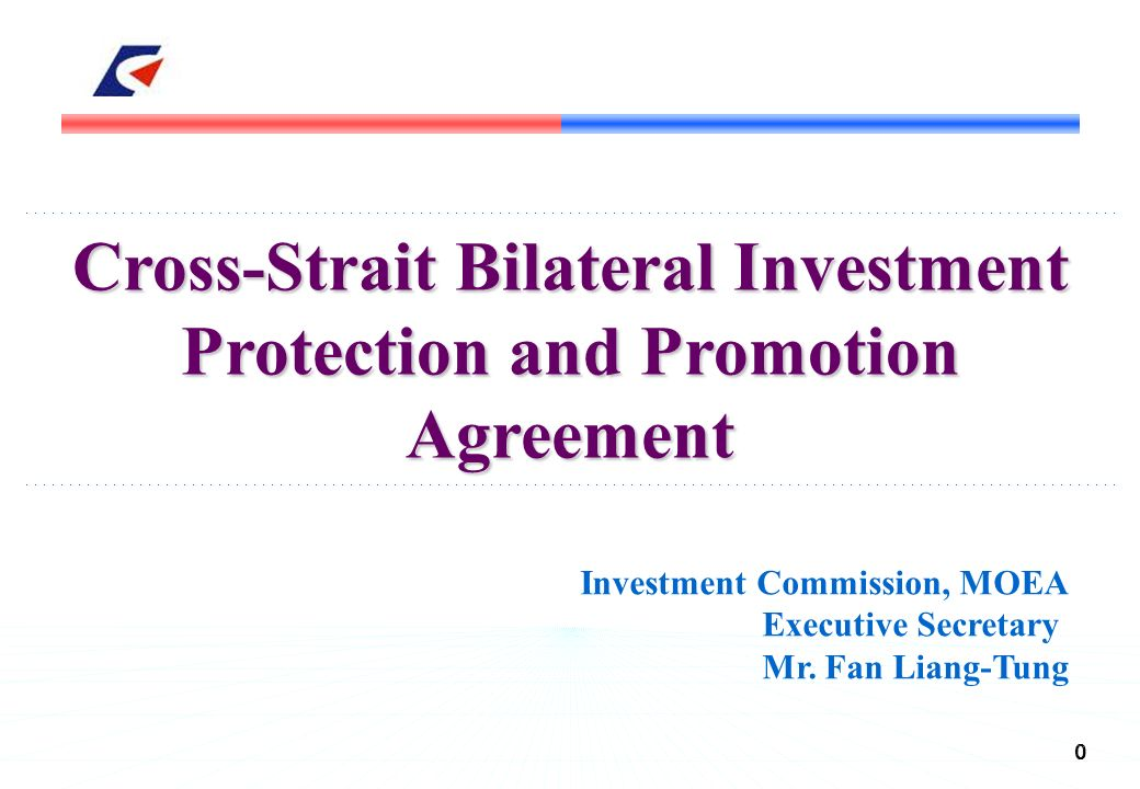 CrossStrait Bilateral Investment Protection And Promotion