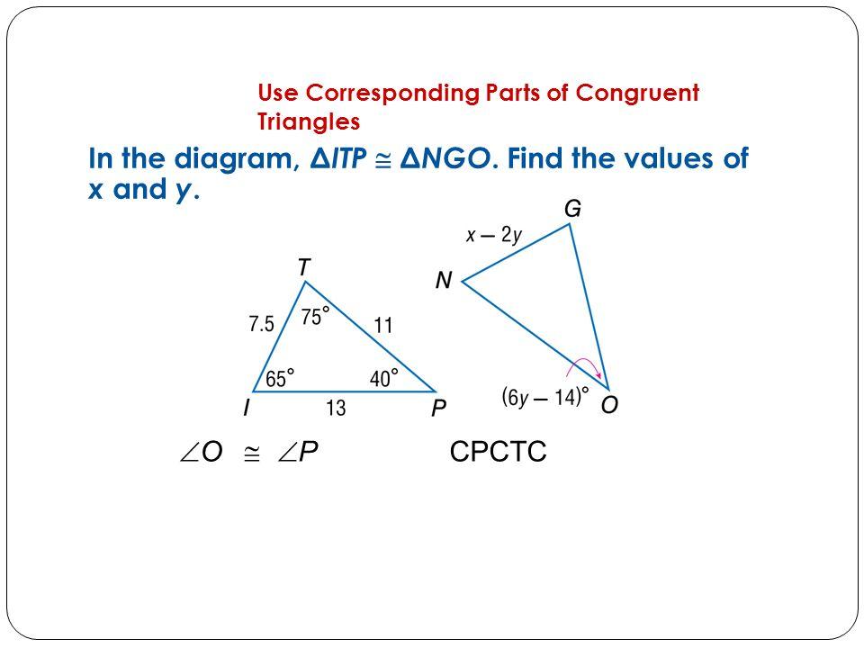 3 3 Corresponding Parts of Congruent Figures are Congruent - YouTube