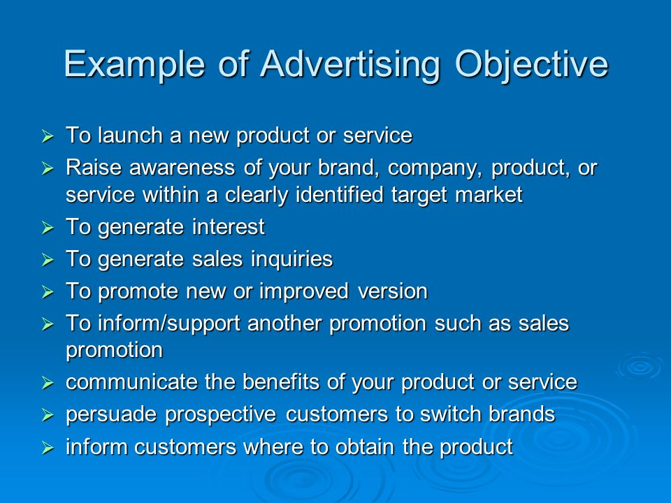 service advertising examples