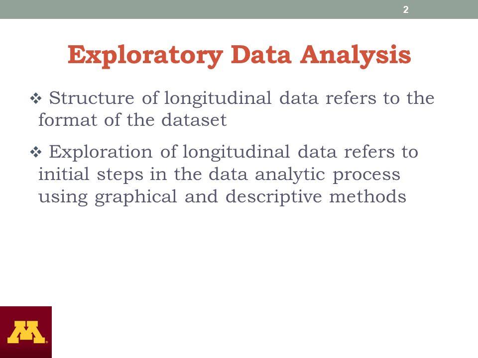 DATA STRUCTURES AND LONGITUDINAL DATA ANALYSIS Nidhi Kohli, Ph.D ...