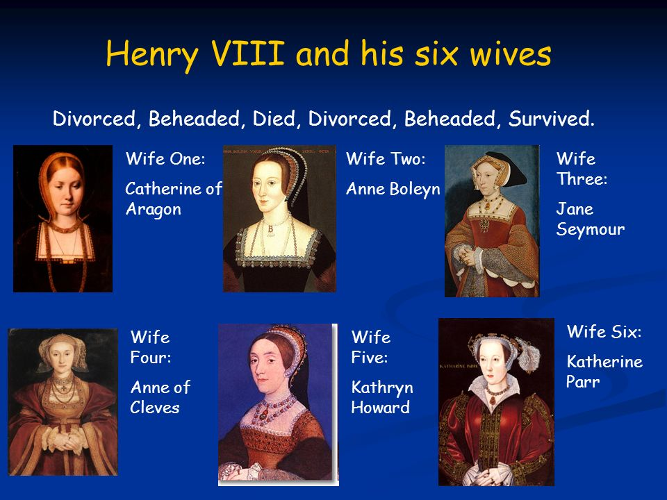 the lives of henry viiis six wives The new pbs mini-series secrets of the six wives, which premiered sunday, follows the lives of six women who married king henry viii in 16th-century englandthe monarch was famous for his numerous marriages: some ended in divorce, others because of death, execution, or his affairs.