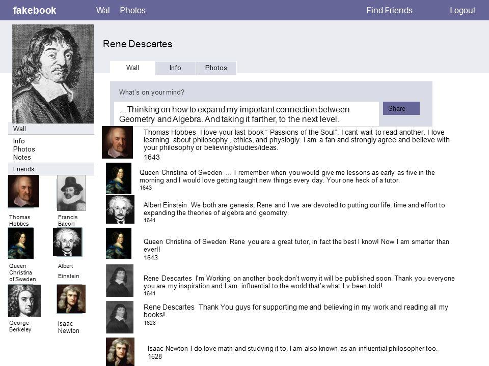 A Biography of Rene Descartes a Famous Mathematician