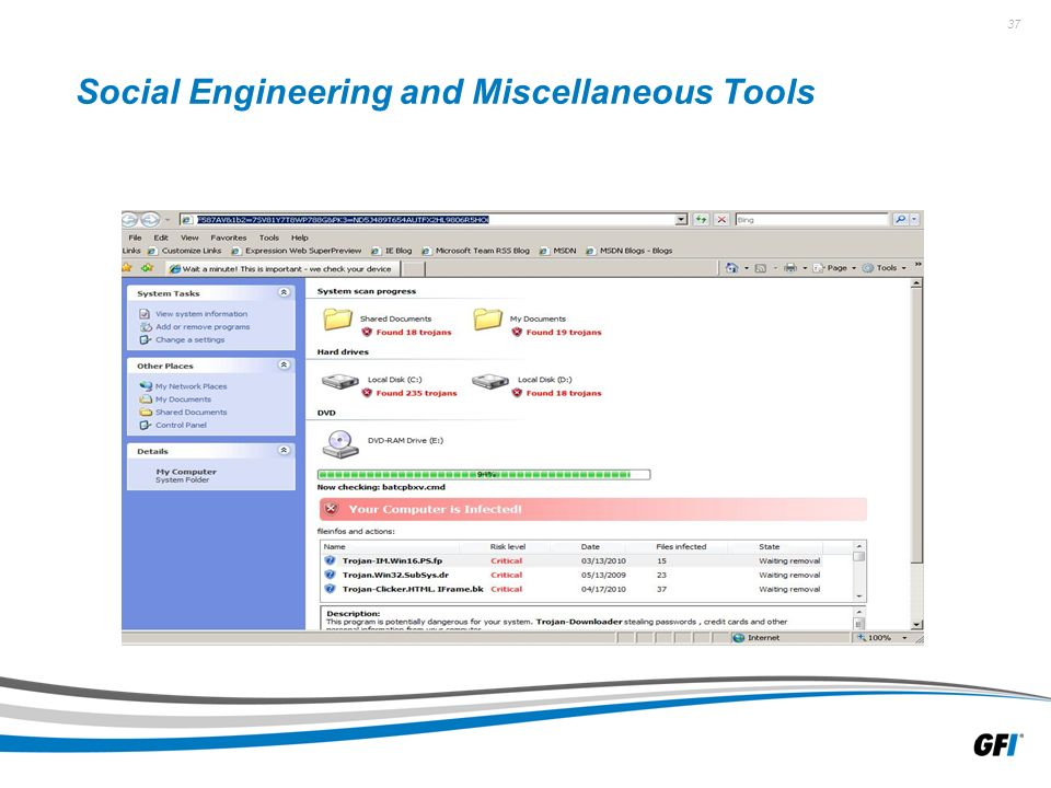37 Social Engineering and Miscellaneous Tools
