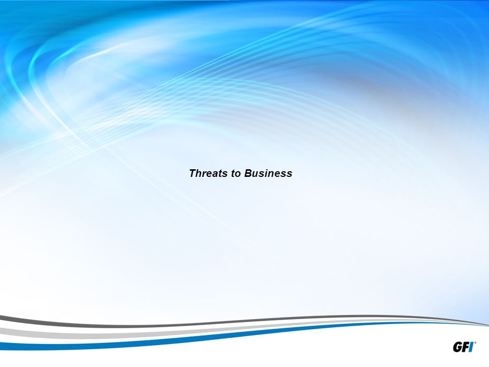 40 Threats to Business