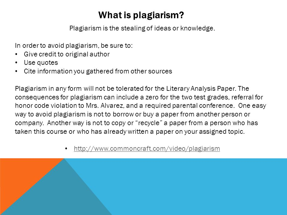 the consequences of plagiarism Plagiarism can jeopardize research grants and a scientist's reputation in her field plagiarism is the intentional or unintentional use of another person's writings or ideas without proper attribution.