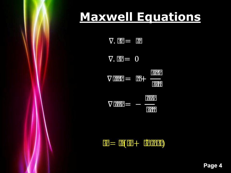 Powerpoint templates page 1 powerpoint templates electromagnetic 4 powerpoint templates page 4 maxwell equations toneelgroepblik Gallery