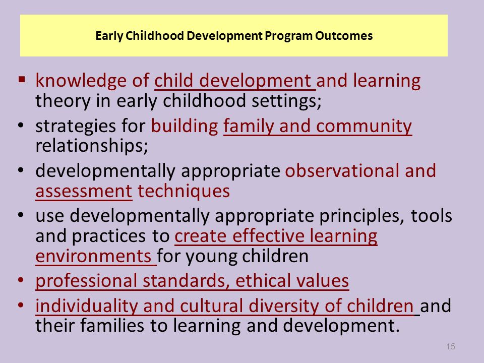 Welcome to ce 100 preparing for a career in early childhood 15 early childhood development sciox Choice Image