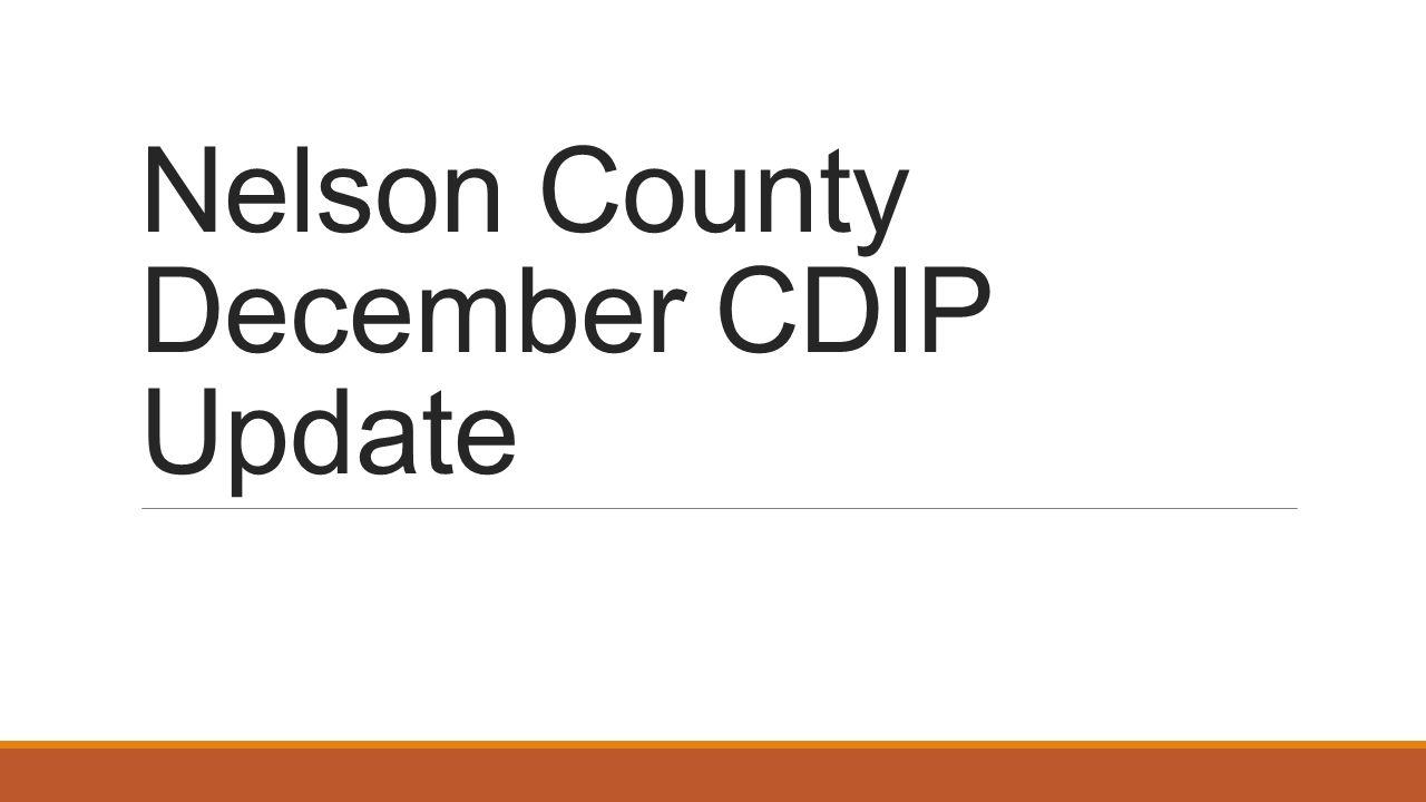 Nelson county december cdip update goal professional growth and 1 nelson county december cdip update xflitez Gallery