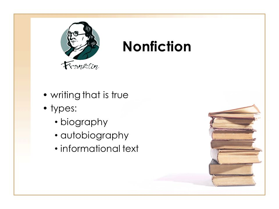 types of non fiction writing In a world of celebrities and fiction  make connections that can energize and change your writing life at the 2018 creative nonfiction writers' conference.