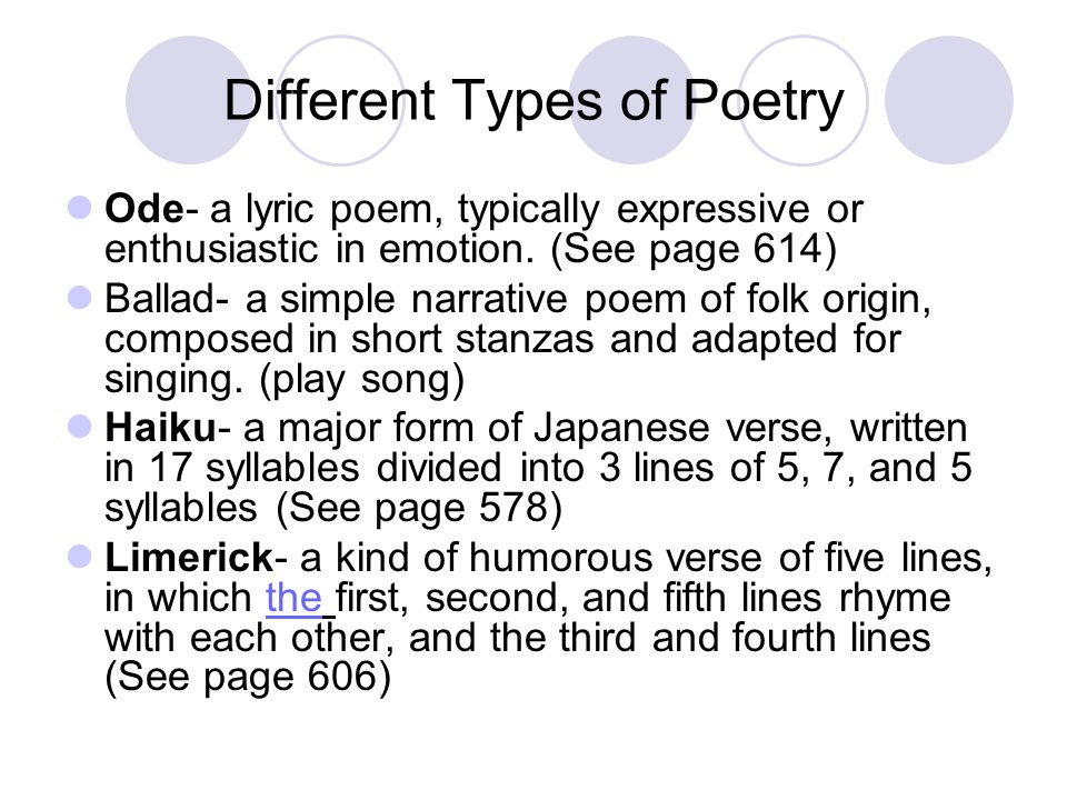 poems poetry and open form poem Closed-form (formalists, romantics) poetry vs open-form (moderns, beats) poetry characteristics of formalism: value of the work is in its form [rhyme scheme, iambs, number of lines, etc.