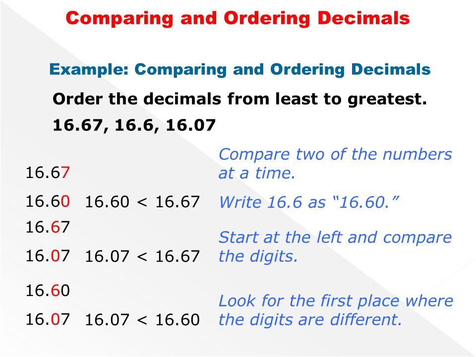 math worksheet : new vocabulary vocabularydefinitionusing symbols inequalitya  : Comparing And Ordering Decimals Worksheets