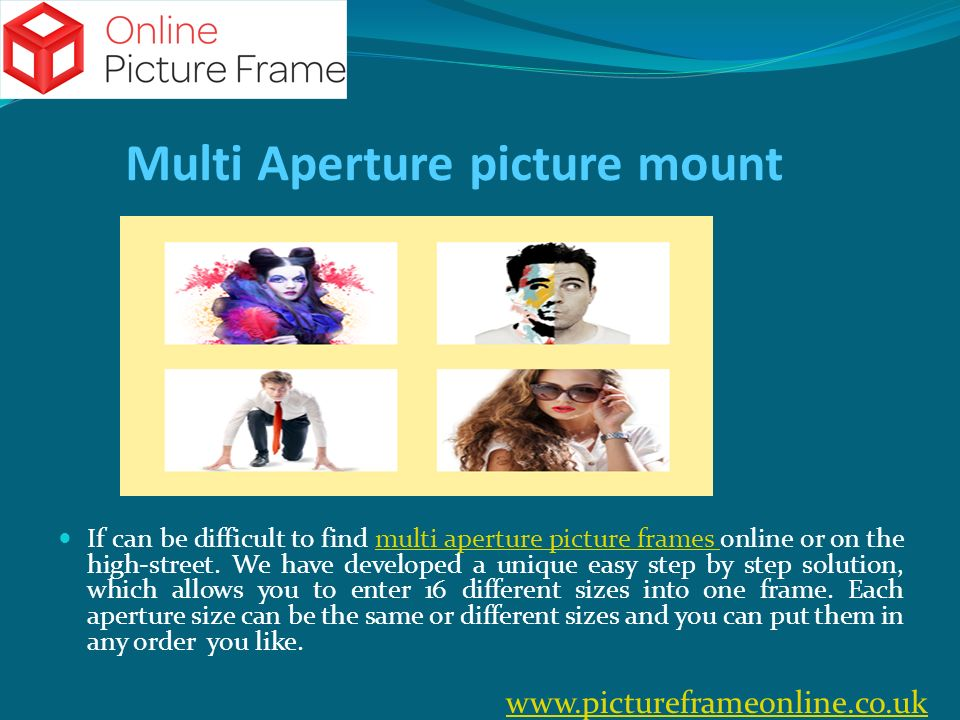 Online Picture Frame Online Picture Frame website is fairly new ...