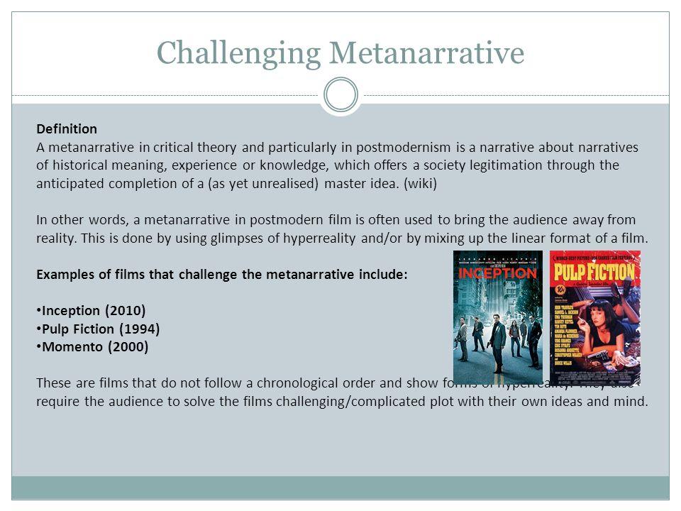 SONAM NGUYEN Postmodernism. Definition of Postmodernism in film ...
