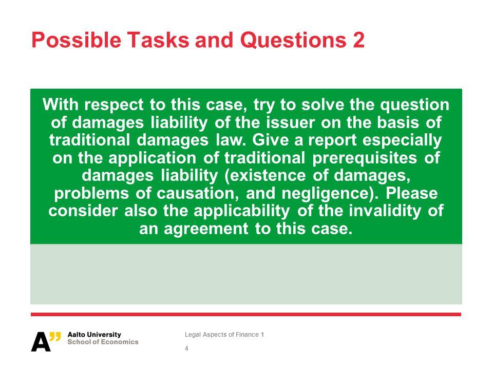 Legal aspects of finance lecture 2 case 2 matti rudanko ppt 4 possible platinumwayz