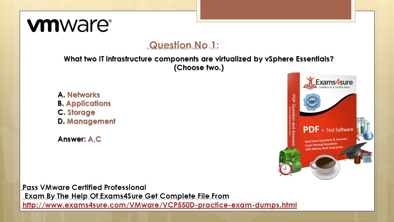 Vmware certified professional vcp550d pass pass vmware certified 8 question xflitez Images