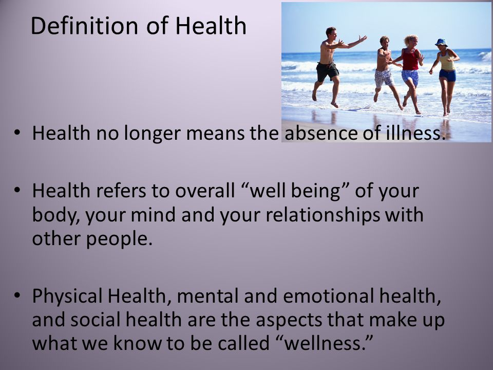 definitions of health and illness Health and illnesses defined by society sociology essay print reference this  the definition of health and illness polarizes between those that rely upon.
