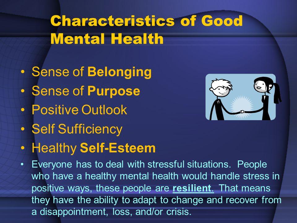 Self Esteem Feeling good about yourself creates a healthy identity.