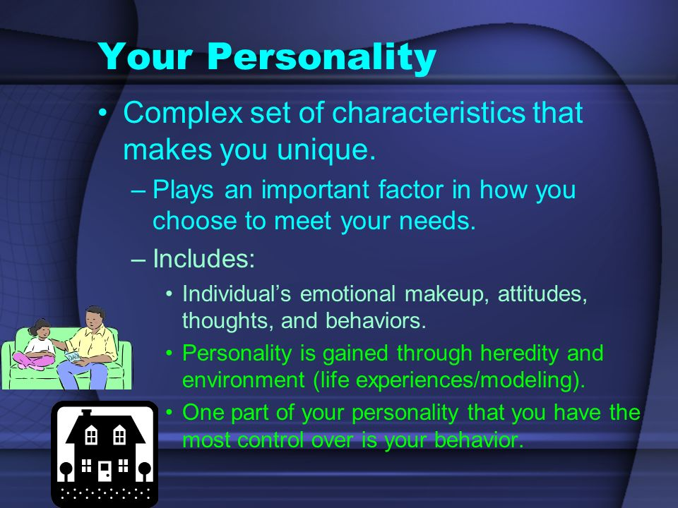 Personal Identity Your sense of yourself as a unique individual.