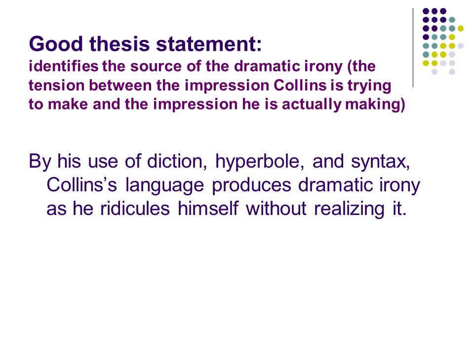 Thesis Statement On Identity