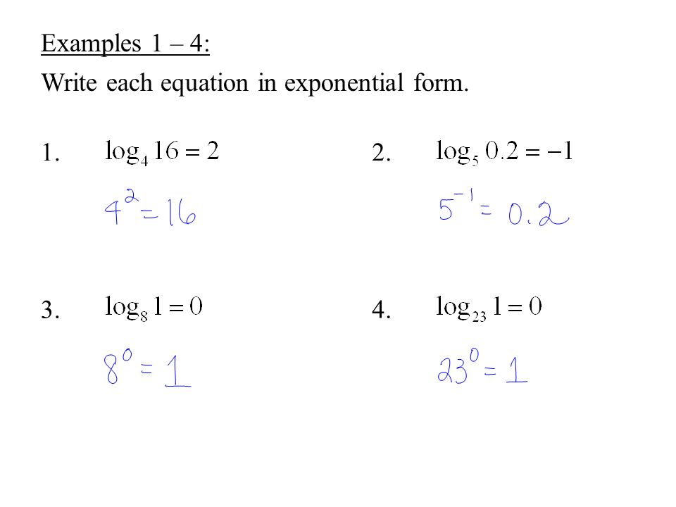 College Algebra Chapter 4 Exponential and Logarithmic Functions ...