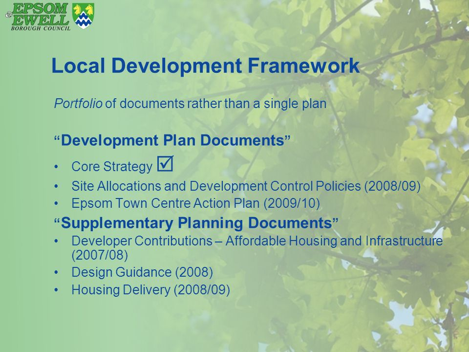 Item 3 South East Plan and recent policy statements… - ppt download