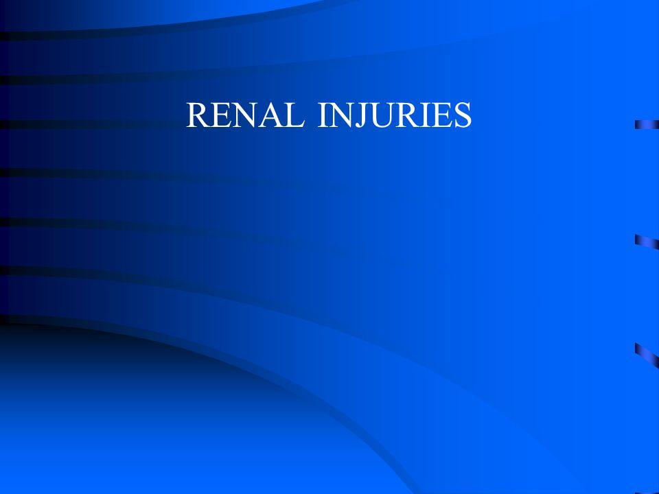 RENAL INJURIES