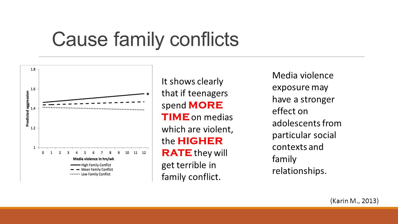 does media violence cause aggression Other research has found that exposure to media violence can desensitize people to violence in the real world and that, for some people, watching violence in the media becomes enjoyable and does not result in the anxious arousal that would be expected from seeing such imagery.