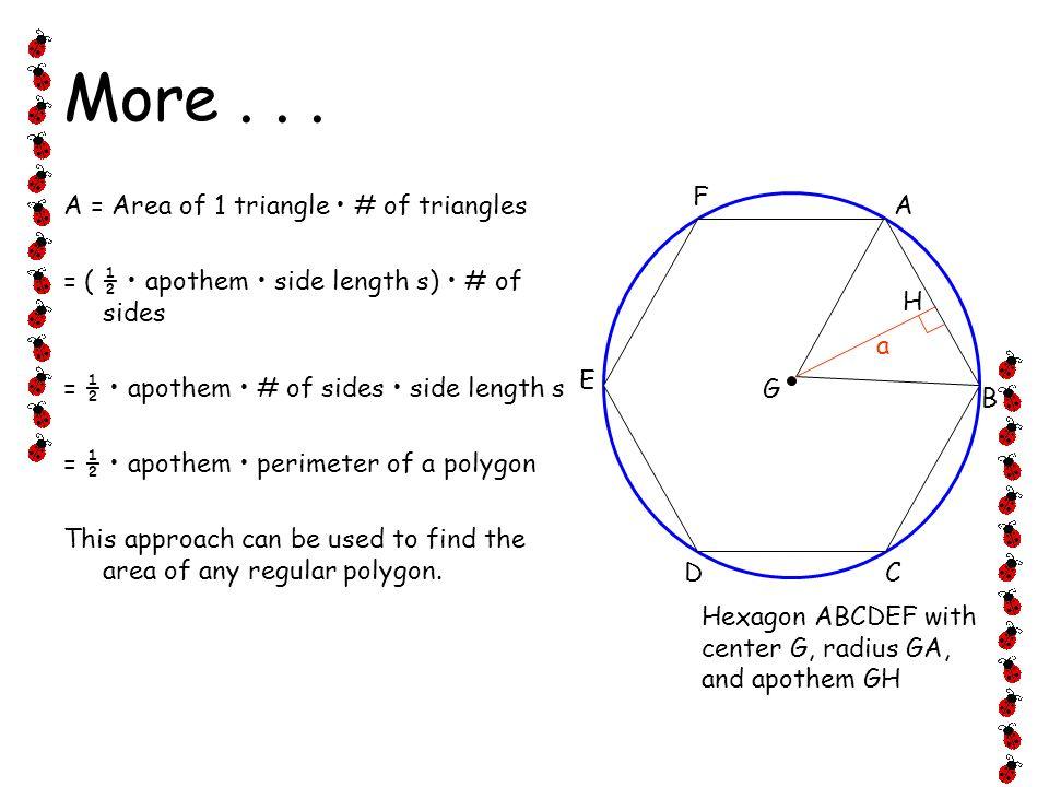 11.2 Areas of Regular Polygons Geometry Ms. Bateman ppt download