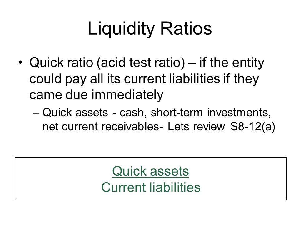 calculating cash ratio